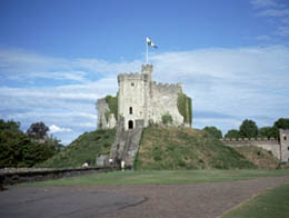 Cardiff Castle in South Wales